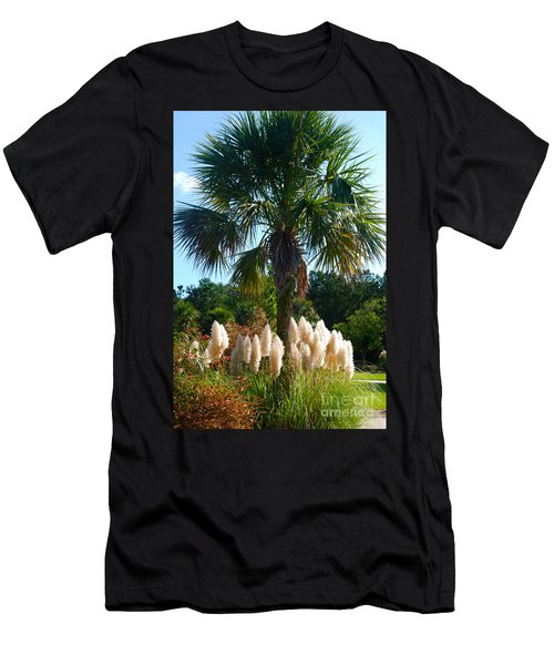 Palmetto Tree  Men's T-Shirt (Athletic Fit)