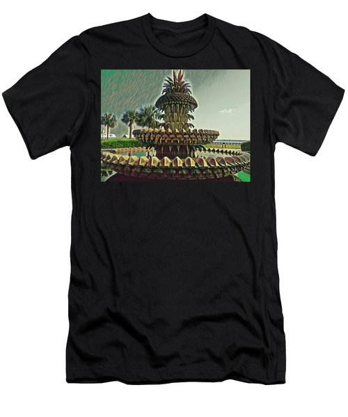 Palms And Pineapples Men's T-Shirt (Athletic Fit)