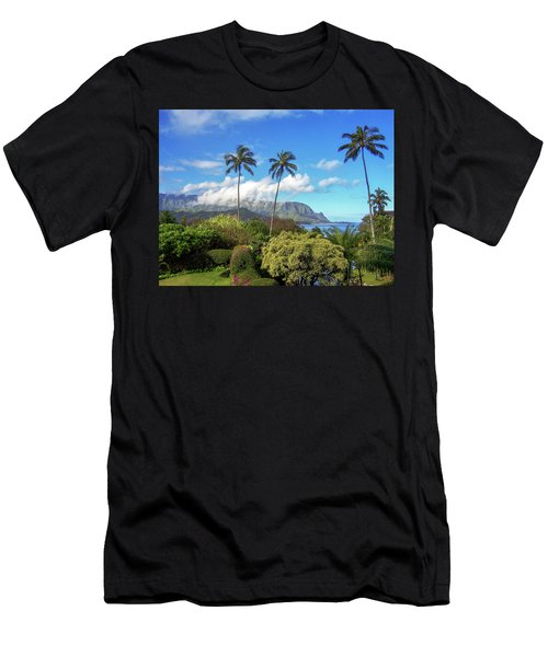Palms At Hanalei Men's T-Shirt (Athletic Fit)