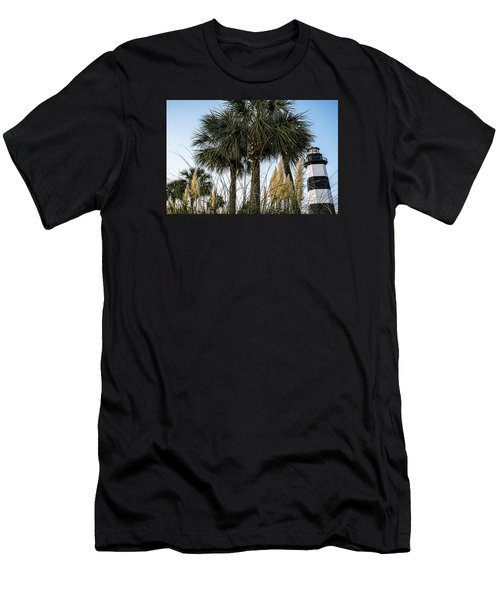 Palms At Lightkeepers Men's T-Shirt (Athletic Fit)