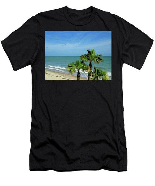 Palms At Vero Beach Men's T-Shirt (Athletic Fit)