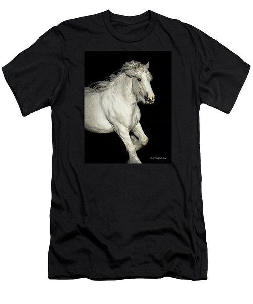 Palomino Portrait Men's T-Shirt (Athletic Fit)