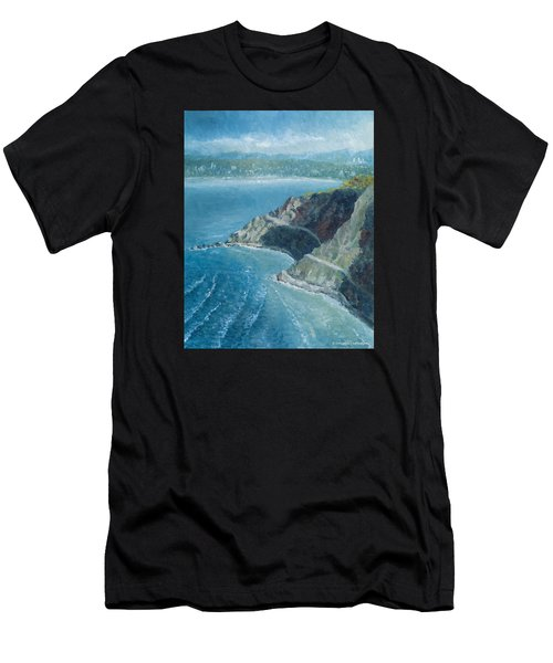 Palos Verdes Autumn Morning, No. 1 Men's T-Shirt (Athletic Fit)