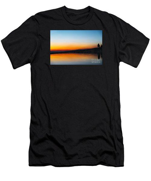 Pammukale Men's T-Shirt (Athletic Fit)