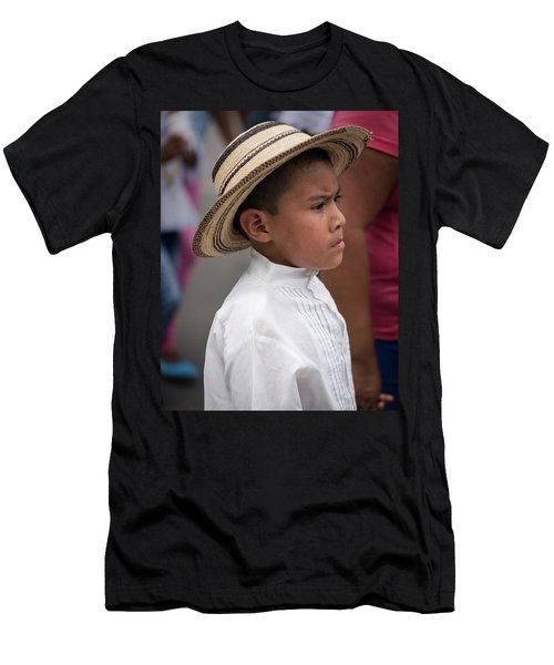Panamanian Boy Men's T-Shirt (Athletic Fit)