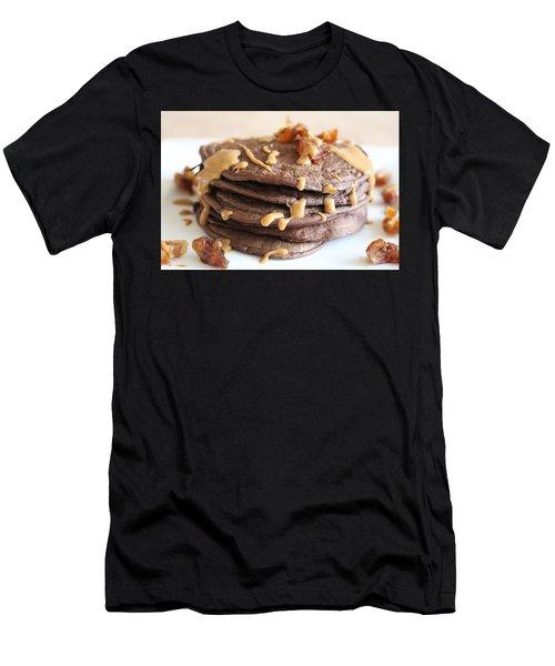 Pancakes Heaven  Men's T-Shirt (Athletic Fit)