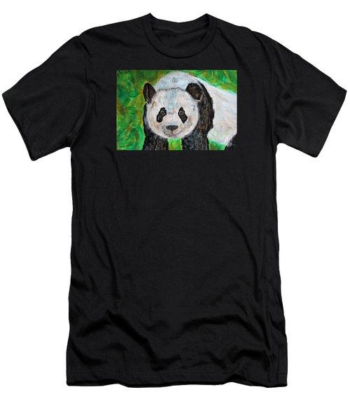 Panda Men's T-Shirt (Athletic Fit)