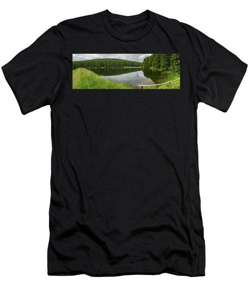 Panorama Liebesbankweg, Harz Men's T-Shirt (Athletic Fit)