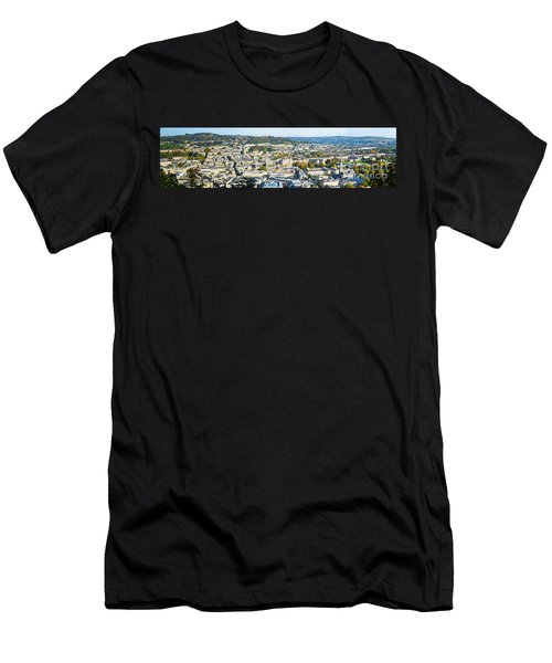 Panorama Of Bath Men's T-Shirt (Athletic Fit)