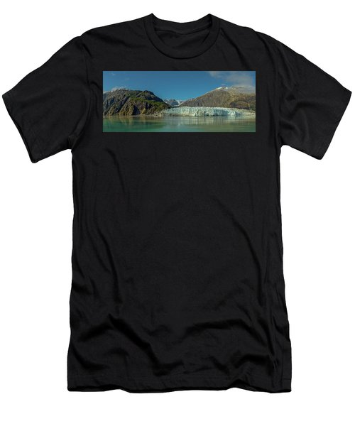 Men's T-Shirt (Athletic Fit) featuring the photograph Panorama Of Glacier Bay, Alaska by Brenda Jacobs