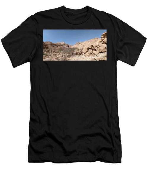 Panorama On Genesis Land 03 Men's T-Shirt (Athletic Fit)