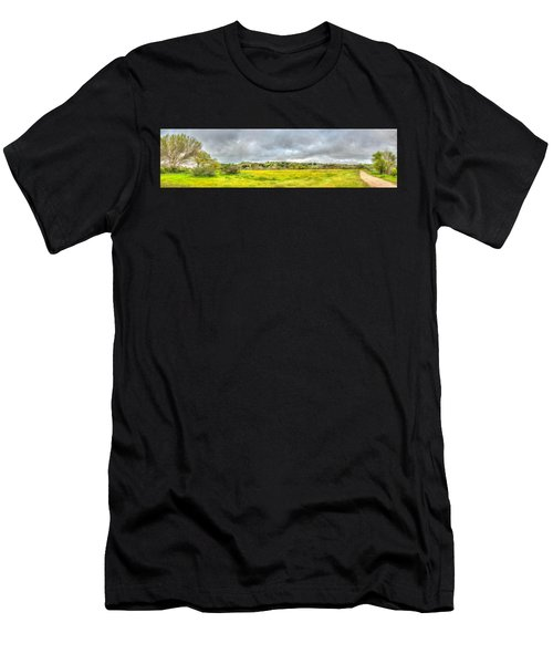 Panorama View Spring Time Men's T-Shirt (Athletic Fit)