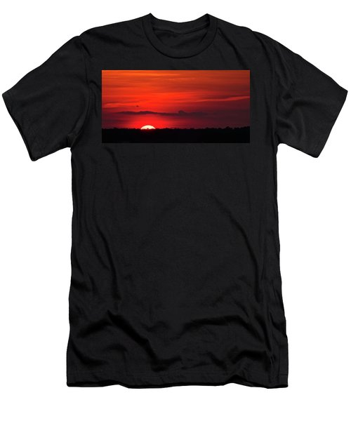 Panoramic Sunset Men's T-Shirt (Athletic Fit)
