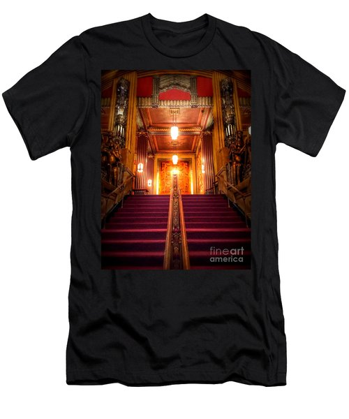 Pantages Theater's Grand Staircase Men's T-Shirt (Athletic Fit)