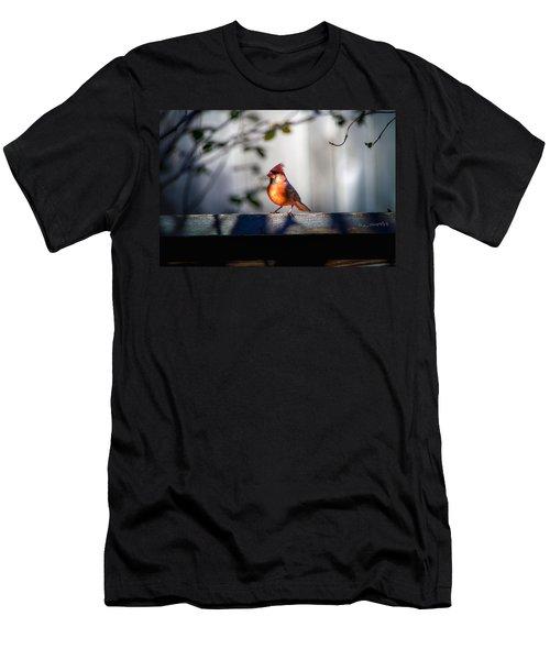 Papa Cardinal Men's T-Shirt (Athletic Fit)