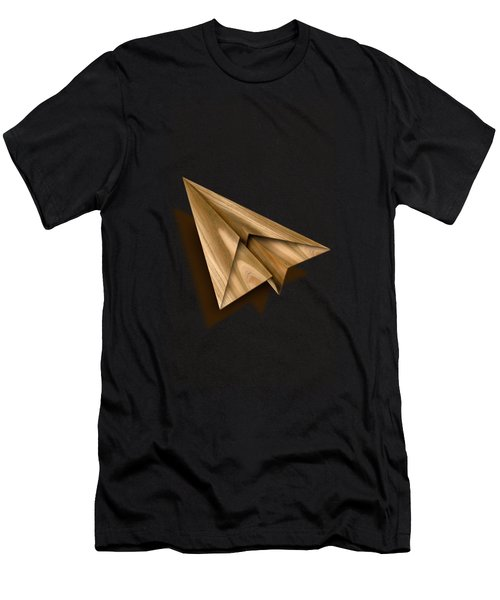 Paper Airplanes Of Wood 1 Men's T-Shirt (Athletic Fit)