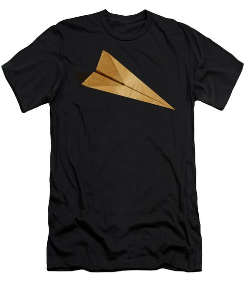Paper Airplanes Of Wood 15 Men's T-Shirt (Athletic Fit)
