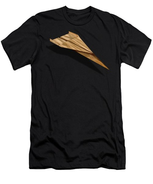 Paper Airplanes Of Wood 3 Men's T-Shirt (Athletic Fit)
