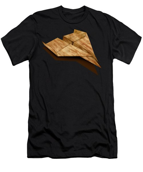 Paper Airplanes Of Wood 5 Men's T-Shirt (Athletic Fit)