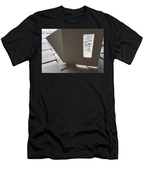 Paper Structure-3 Men's T-Shirt (Athletic Fit)