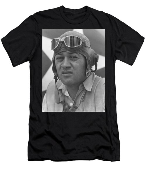 Pappy Boyington - Ww2 Men's T-Shirt (Athletic Fit)