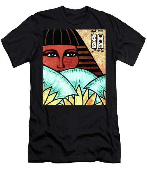 Papyrus Girl Men's T-Shirt (Slim Fit) by Tara Hutton