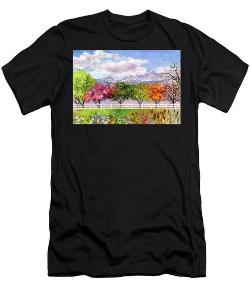 Parade Of The Seasons Men's T-Shirt (Athletic Fit)