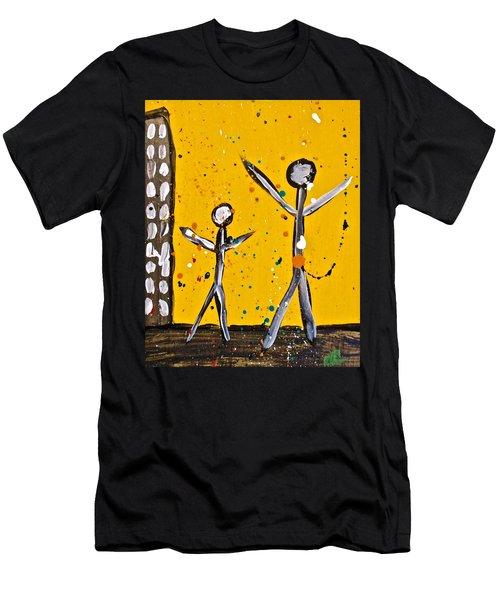 Parades 1 Men's T-Shirt (Athletic Fit)