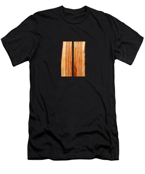 Parallel Wood Men's T-Shirt (Athletic Fit)