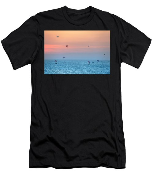 Parasailing At Boracay Men's T-Shirt (Athletic Fit)