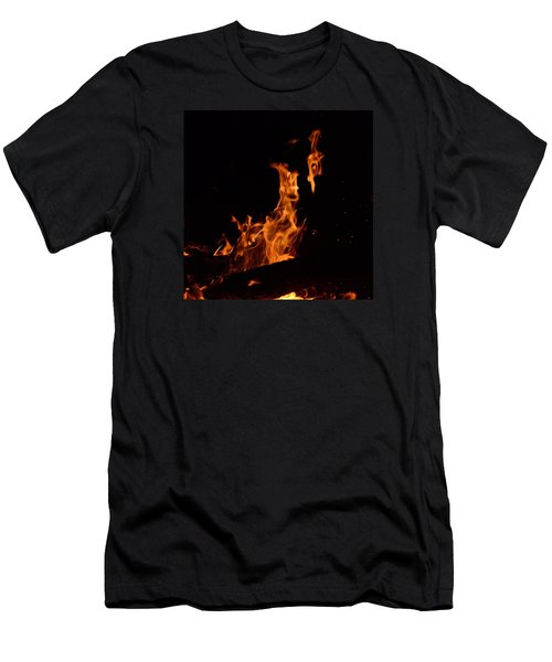 Pareidolia Fire Men's T-Shirt (Athletic Fit)