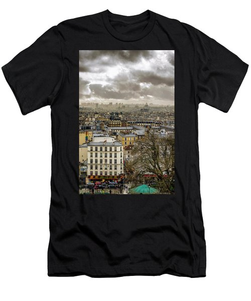 Paris As Seen From The Sacre-coeur Men's T-Shirt (Athletic Fit)
