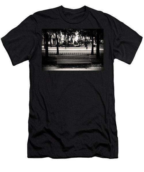 Paris Bench Men's T-Shirt (Athletic Fit)