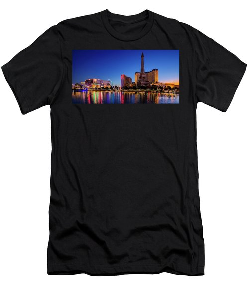 Paris Casino At Dawn 2 To 1 Ratio Men's T-Shirt (Athletic Fit)
