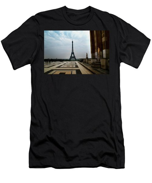 Men's T-Shirt (Athletic Fit) featuring the photograph Paris by Lucian Capellaro