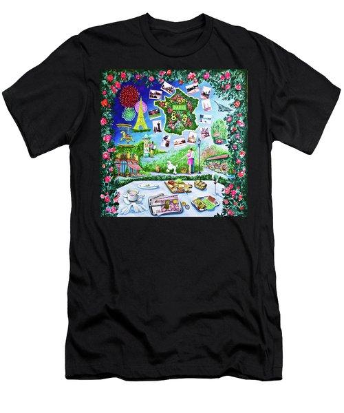 Paris Memories Men's T-Shirt (Athletic Fit)