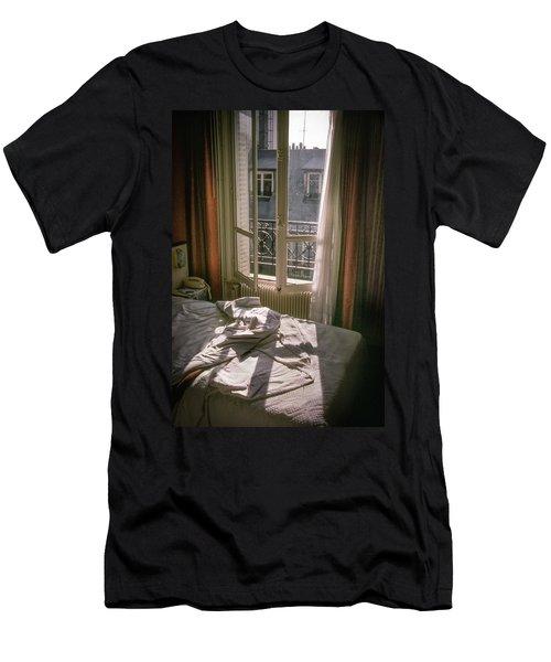 Paris Morning Men's T-Shirt (Athletic Fit)