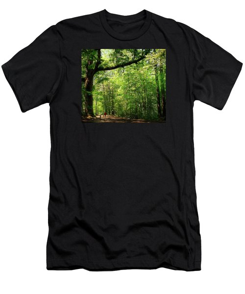 Paris Mountain State Park South Carolina Men's T-Shirt (Slim Fit) by Bellesouth Studio