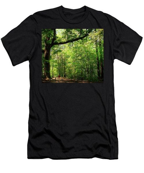 Paris Mountain State Park South Carolina Men's T-Shirt (Athletic Fit)