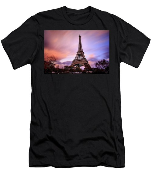 Paris Pastels Men's T-Shirt (Athletic Fit)