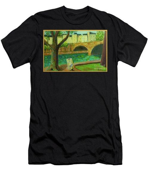 Paris Rubbish Men's T-Shirt (Athletic Fit)