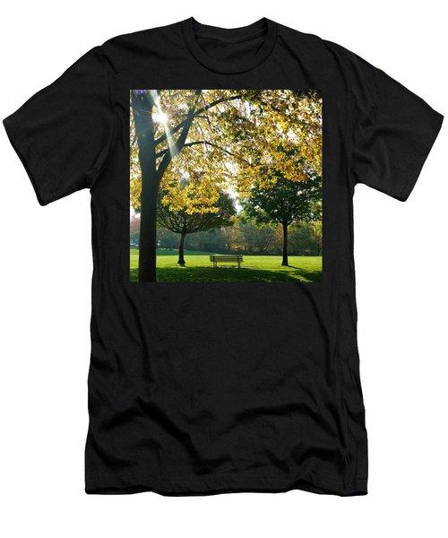 Park Bench Men's T-Shirt (Athletic Fit)
