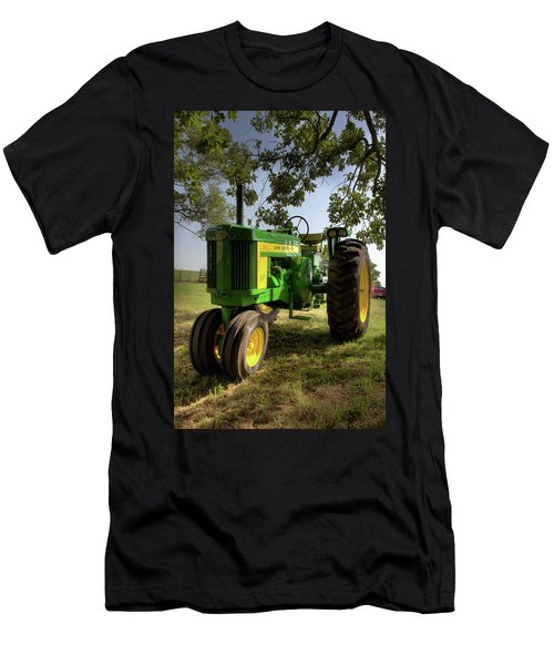 Parked John Deere 2 Men's T-Shirt (Athletic Fit)