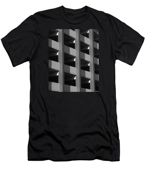 Parking Garage Milwaukee Abstract 2334 Men's T-Shirt (Athletic Fit)