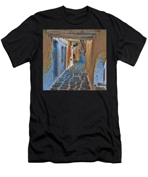 Paros Beauty Island Greece  Men's T-Shirt (Athletic Fit)