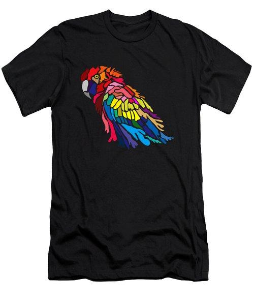 Parrot Beauty Men's T-Shirt (Athletic Fit)