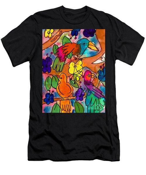 Parrots Men's T-Shirt (Athletic Fit)