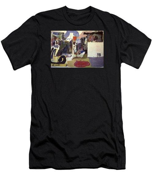 Part 2, Human Landscapes Men's T-Shirt (Athletic Fit)