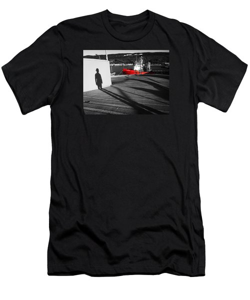 Parting Men's T-Shirt (Slim Fit) by Zinvolle Art
