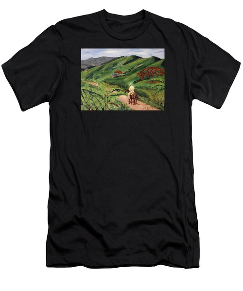 Paseo Por El Campo Men's T-Shirt (Athletic Fit)
